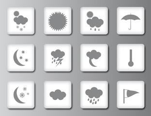 Weather icon set 2