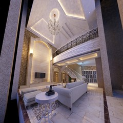 rendering living room