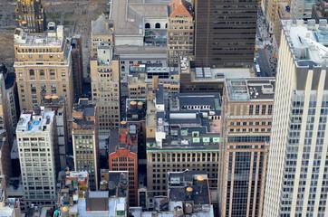 Spoed Foto op Canvas New York City Manhatten