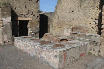 Fototapete - Ercolano-Antica cucina