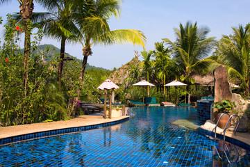 Swimming pool , Thailand
