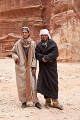 Zwei Beduinen