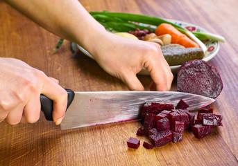 Preparing beet