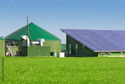 biogas und photovoltaikanlage 046 stockfotos und lizenzfreie bilder auf bild. Black Bedroom Furniture Sets. Home Design Ideas