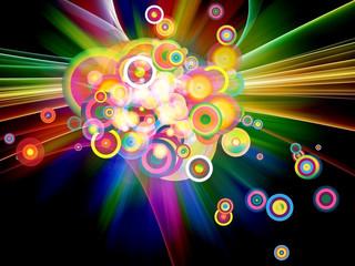Explosive Color Burst