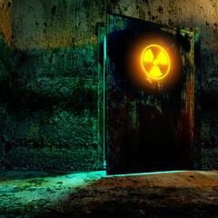 radiation danger zone
