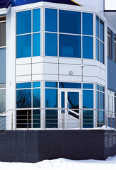 facade off office building