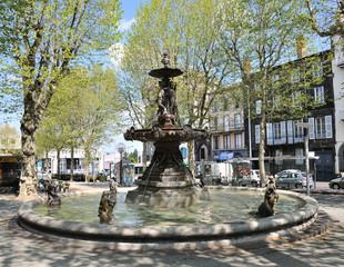 Fontaine Delille à Clermont-Ferrand