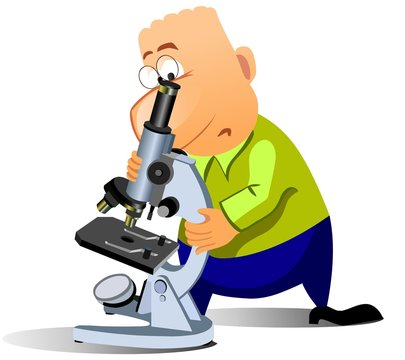 20+ Microscope Cartoon Picture
