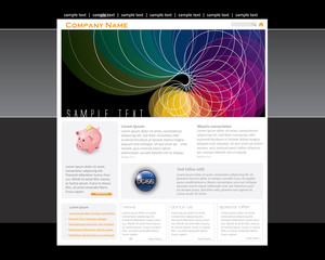 Conceptual Website template