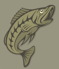 Fish lineart