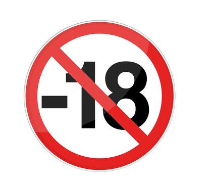 interdit moins de 18