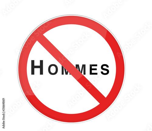 interdit au hommes photo libre de droits sur la banque d 39 images image 31664869. Black Bedroom Furniture Sets. Home Design Ideas