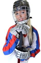 woman hockey