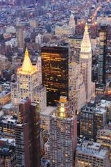 Fototapete - New York City Manhattan downtown