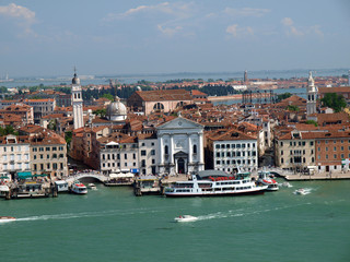 Venice - view from the tower of San Giorgio Magiore church
