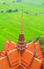 buddhist temple in Kanchanaburi, Thailand