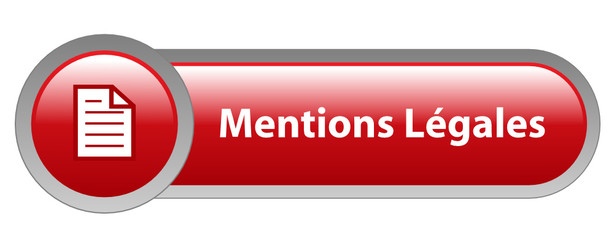 Bouton Web MENTIONS LEGALES (informations conditions générales)