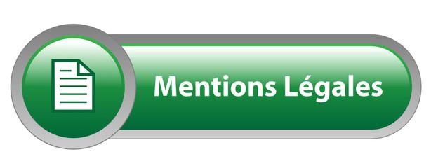 Bouton Web MENTIONS LEGALES (conditions générales informations)