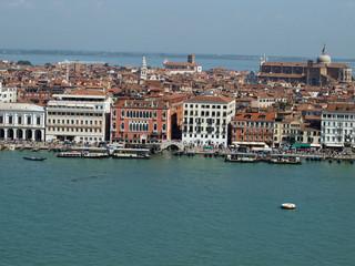 Venice - view from the  church of San Giorgio Magiore