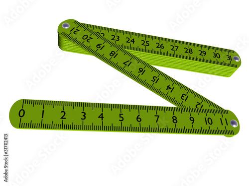 Как сделать складной метр