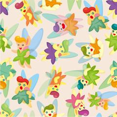 seamless elf pattern
