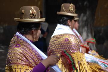 Fête traditionnelle, Potosi, Bolivie