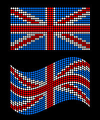 Vector Union Jack Flags