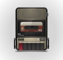 Vector cassette recorder XXL icon