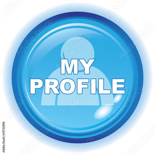 """MY PROFILE ICON"" Stock image and royalty-free vector ..."