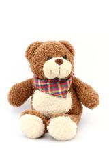 Teddybär mit Halstuch