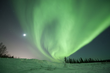 Aurora Borealis in Fairbanks