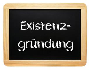 Existenzgründung - Konzept Tafel - freigestellt