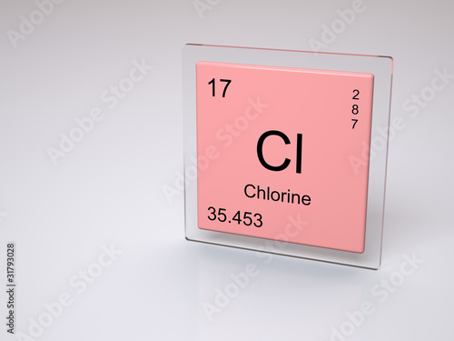 Chlorine symbol cl chemical element of the periodic table stock chlorine symbol cl chemical element of the periodic table urtaz Gallery