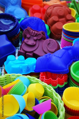 colorful and differently shaped silicone baking pans stock photo and royalty free images on. Black Bedroom Furniture Sets. Home Design Ideas