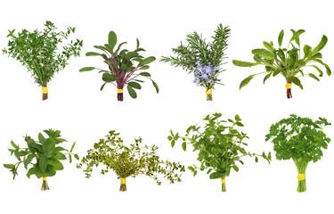 Herb Leaf Posy Selection