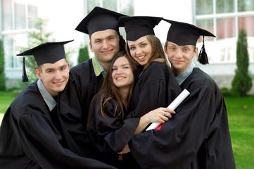 Graduates rejoice and indulge