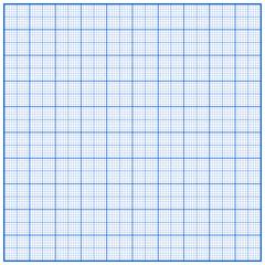 millimeterpapier blau I