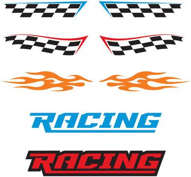 Racing Decal Logo