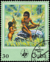 CUBA - CIRCA 1985 Hunting