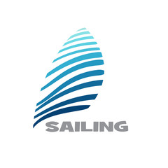 Logo sailing # Vector
