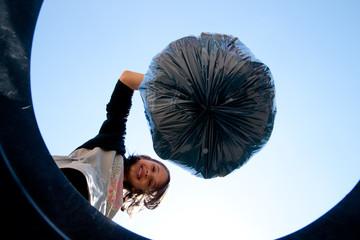 jeter la poubelle