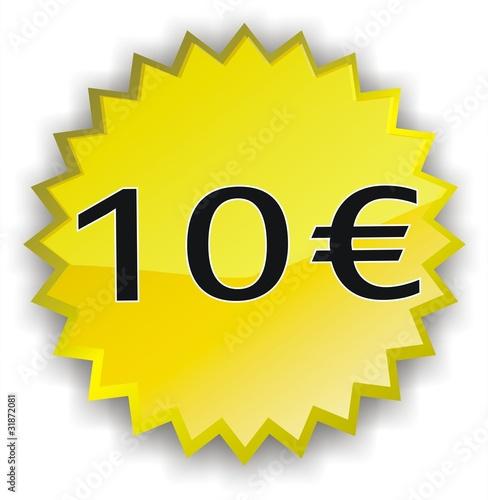 tiquette 10 euros photo libre de droits sur la banque d 39 images image 31872081. Black Bedroom Furniture Sets. Home Design Ideas
