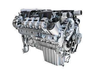 Motor eines Trucks