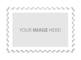 Briefmarke empty