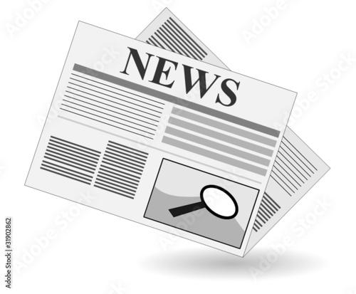 zeitung news clipart stockfotos und lizenzfreie vektoren. Black Bedroom Furniture Sets. Home Design Ideas