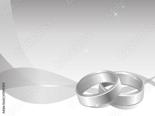 Eheringe Ringe Hochzeit Silber Hintergrund Dynamisch Stockfotos Und