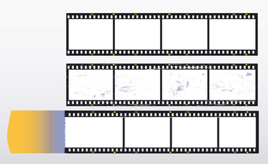 35 mm filmstrip, picture frame,with light incidence,free copy sp
