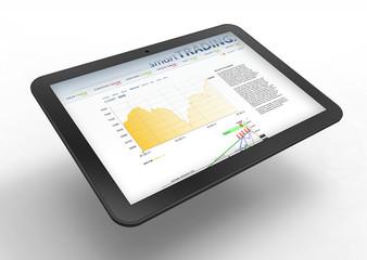 Trading via Tablet PC
