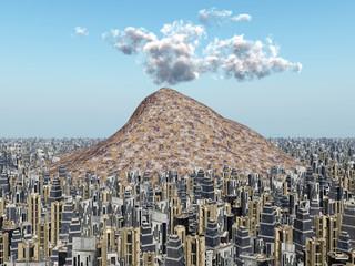 Vulkan in der Grossstadt